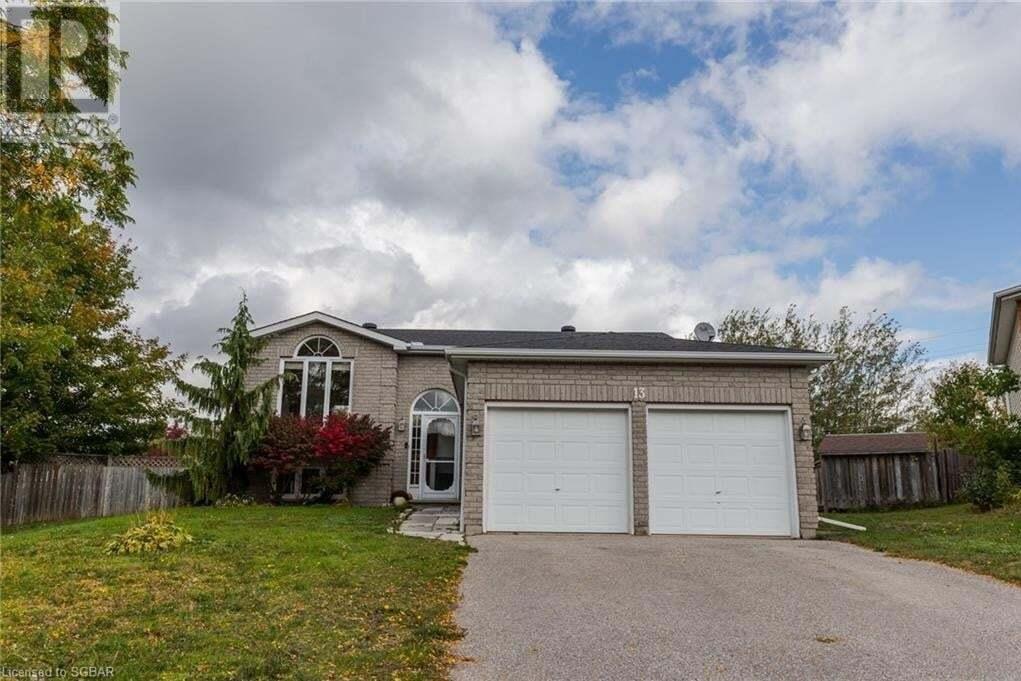 House for sale at 13 Mercer Cres Penetanguishene Ontario - MLS: 40028741