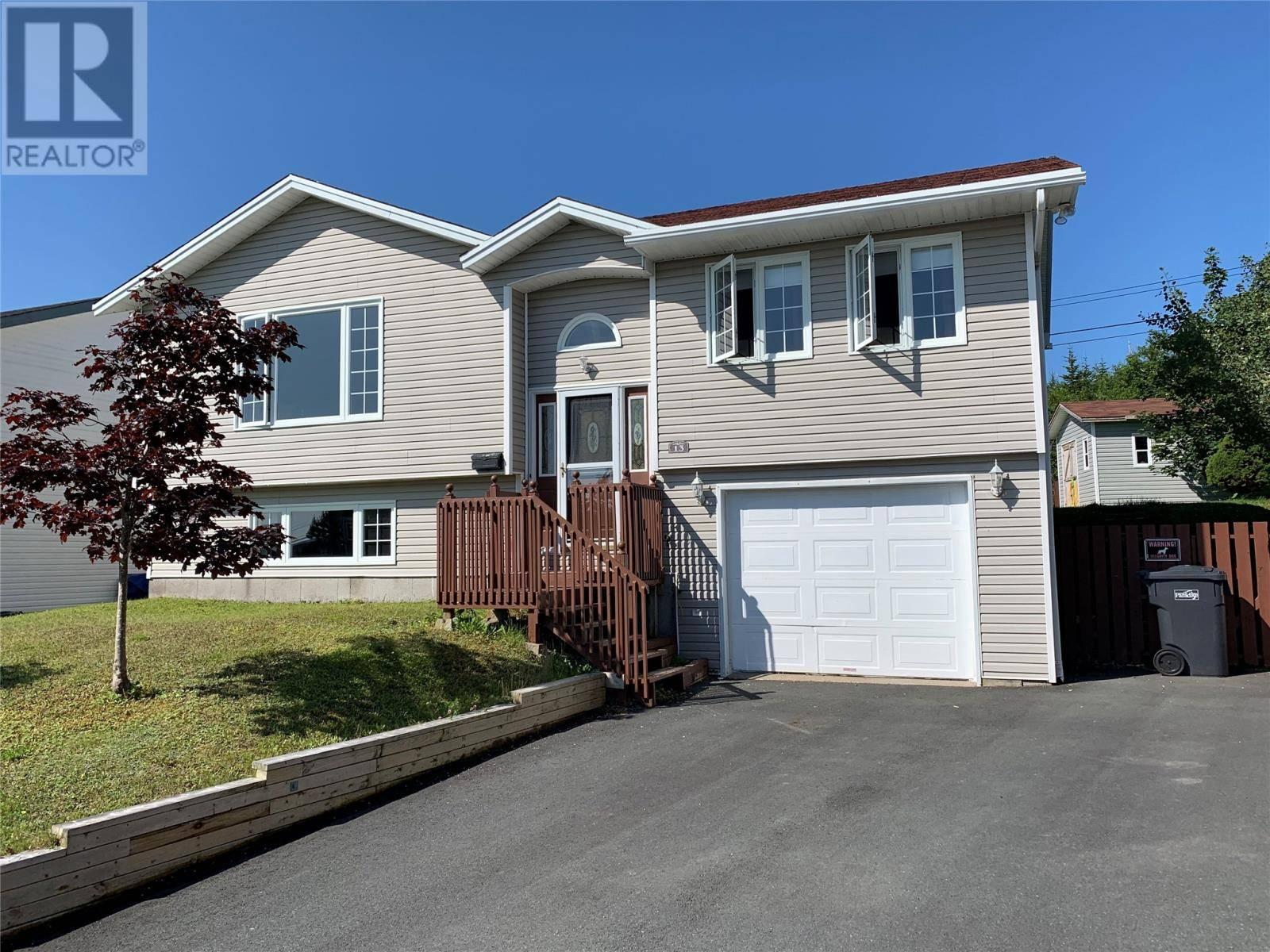 House for sale at 13 Osprey Pl Paradise Newfoundland - MLS: 1211395