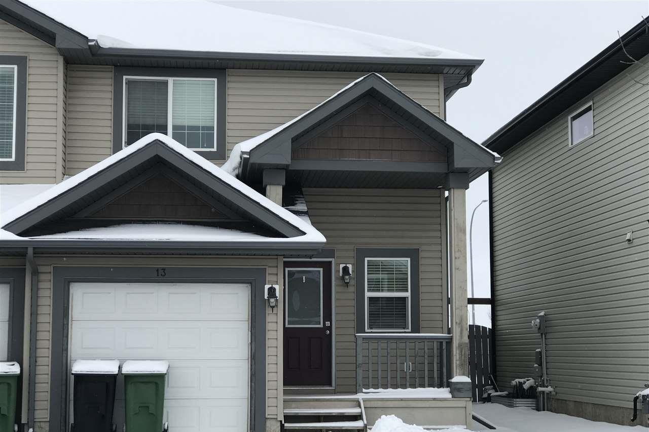 Townhouse for sale at 13 Reed Co Fort Saskatchewan Alberta - MLS: E4221879