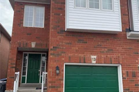 Townhouse for rent at 13 Roadmaster Ln Brampton Ontario - MLS: W4752673