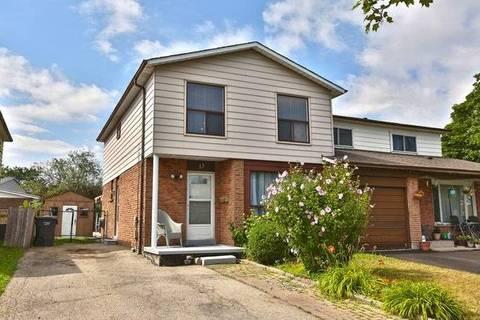 Townhouse for sale at 13 Skelton Blvd Brampton Ontario - MLS: W4548198