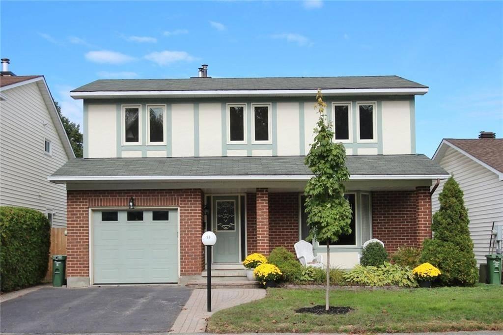 House for sale at 13 Tamblyn Cres Kanata Ontario - MLS: 1171406