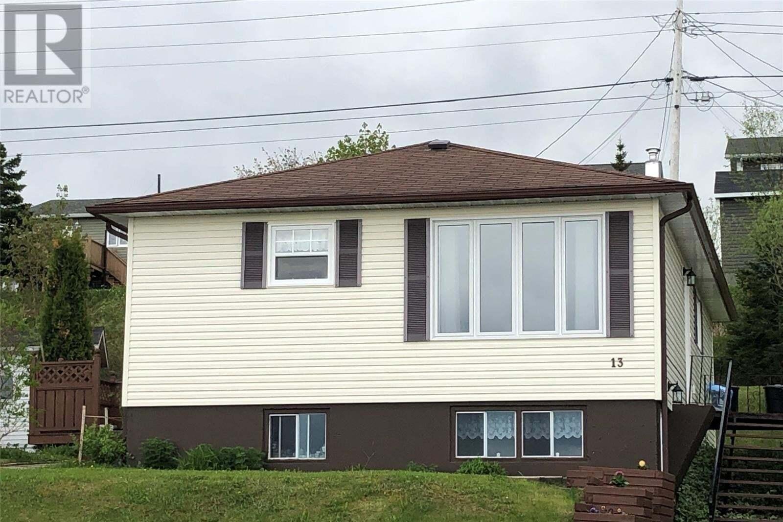 House for sale at 13 Tudor St Corner Brook Newfoundland - MLS: 1216101
