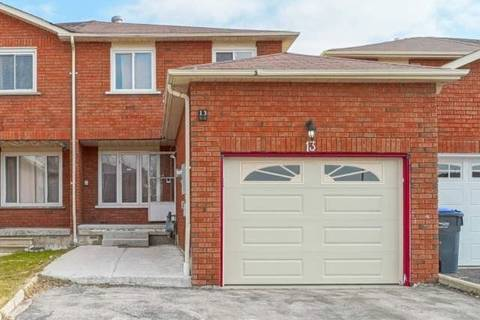 Townhouse for sale at 13 Tulip Dr Brampton Ontario - MLS: W4732947