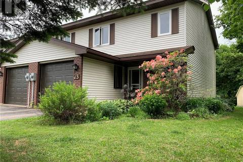 House for sale at 13 Wallace Ct Sussex New Brunswick - MLS: NB023026