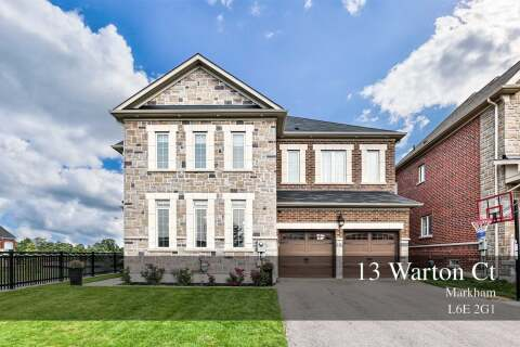 House for sale at 13 Warton Ct Markham Ontario - MLS: N4914076