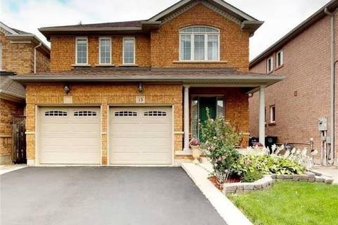 House for rent at 13 Waterdale Rd Brampton Ontario - MLS: W4703680