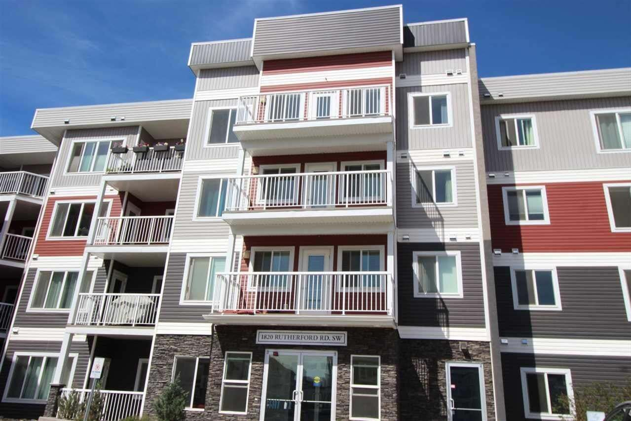 Condo for sale at 1818 Rutherford Rd SW Unit 130 Edmonton Alberta - MLS: E4211138