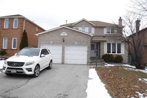 House for rent at 130 Knightswood Ave Vaughan Ontario - MLS: N4657517