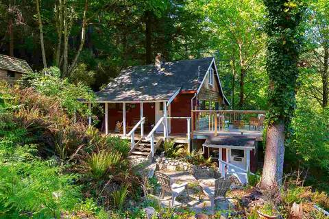 House for sale at 1300 Hillcrest Rd Bowen Island British Columbia - MLS: R2364546