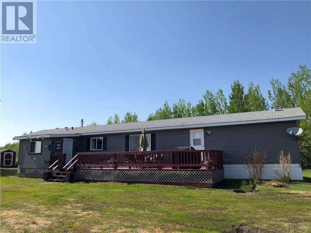 Home for sale at 130010 Twp Rd 750  Grande Prairie, County Of Alberta - MLS: GP213809
