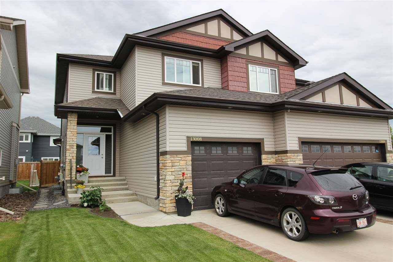 Townhouse for sale at 13008 164 Ave Nw Edmonton Alberta - MLS: E4164177