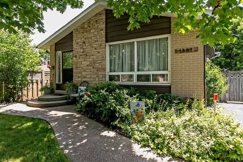 House for sale at 1302 Odessa Cres Oakville Ontario - MLS: W4519188