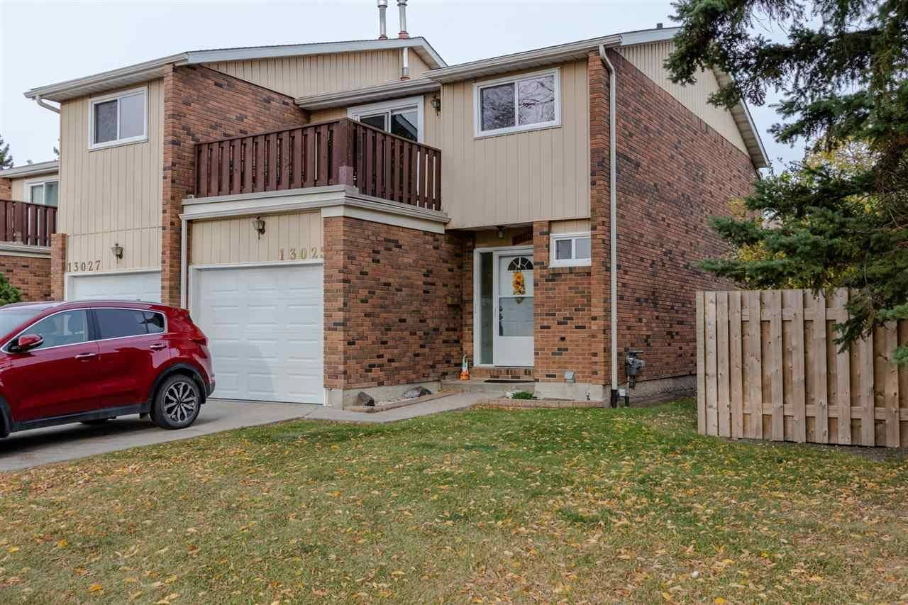 Townhouse for sale at 13025 34 St Nw Edmonton Alberta - MLS: E4175318