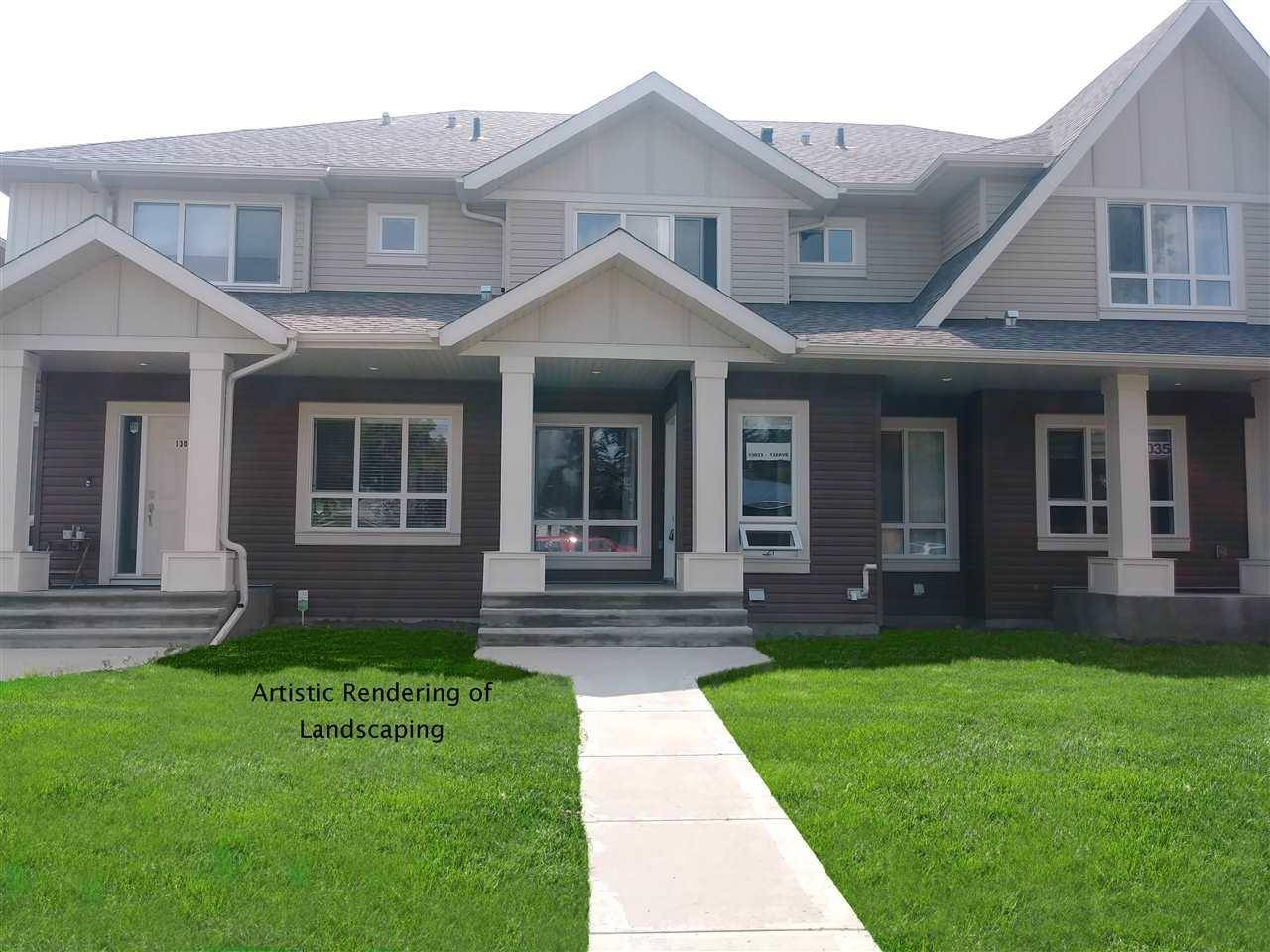 Townhouse for sale at 13033 132 Ave Nw Edmonton Alberta - MLS: E4170230