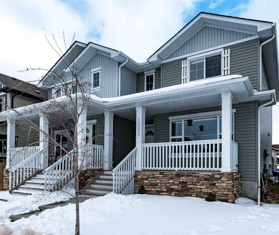 Townhouse for sale at 1305 30 Ave Nw Edmonton Alberta - MLS: E4190053