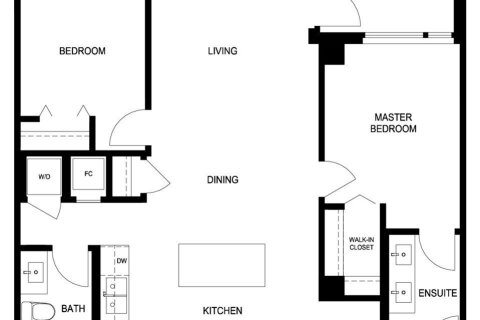 Condo for sale at 3699 Sexsmith Rd Unit 1305 Richmond British Columbia - MLS: R2512060