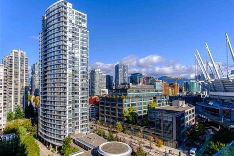 Condo for sale at 89 Nelson St Unit 1305 Vancouver British Columbia - MLS: R2423490