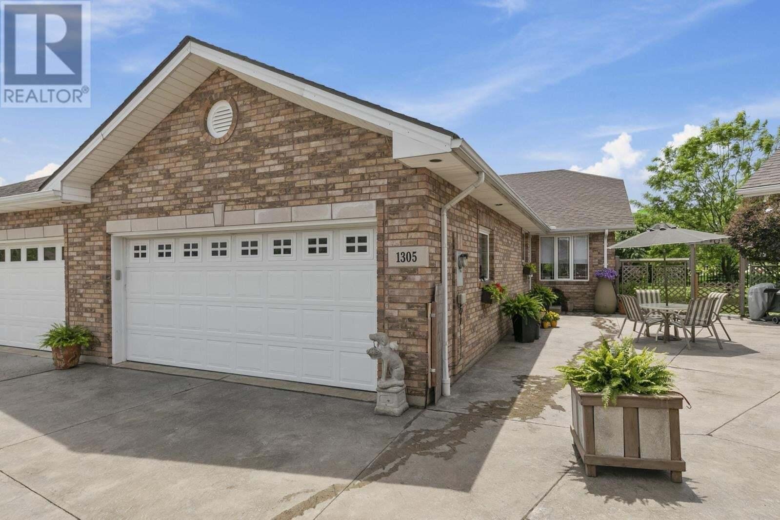 Townhouse for sale at 1305 Laurel Bay  Windsor Ontario - MLS: 20006386