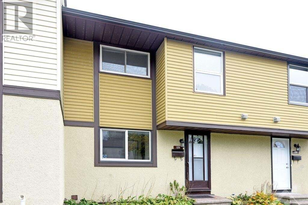 Townhouse for sale at 2570 Southvale Cres Unit 131 Ottawa Ontario - MLS: 1214308