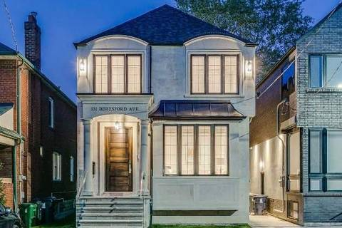 House for sale at 131 Beresford Ave Toronto Ontario - MLS: W4445414