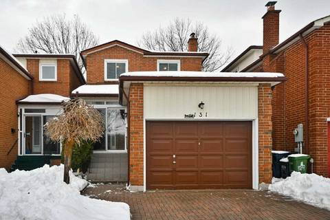 House for sale at 131 Salome Dr Toronto Ontario - MLS: E4688929