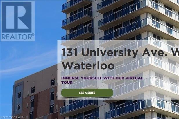 Apartment for rent at 131 University Ave West Waterloo Ontario - MLS: 40042391