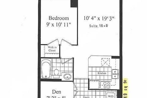 Apartment for rent at 140 Simcoe St Unit 1310 Toronto Ontario - MLS: C4555421
