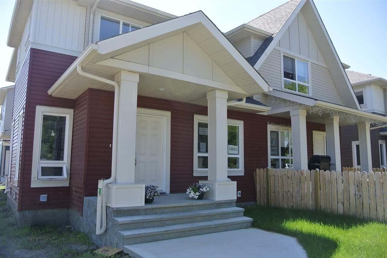 Townhouse for sale at 13109 132 Av NW Edmonton Alberta - MLS: E4198610