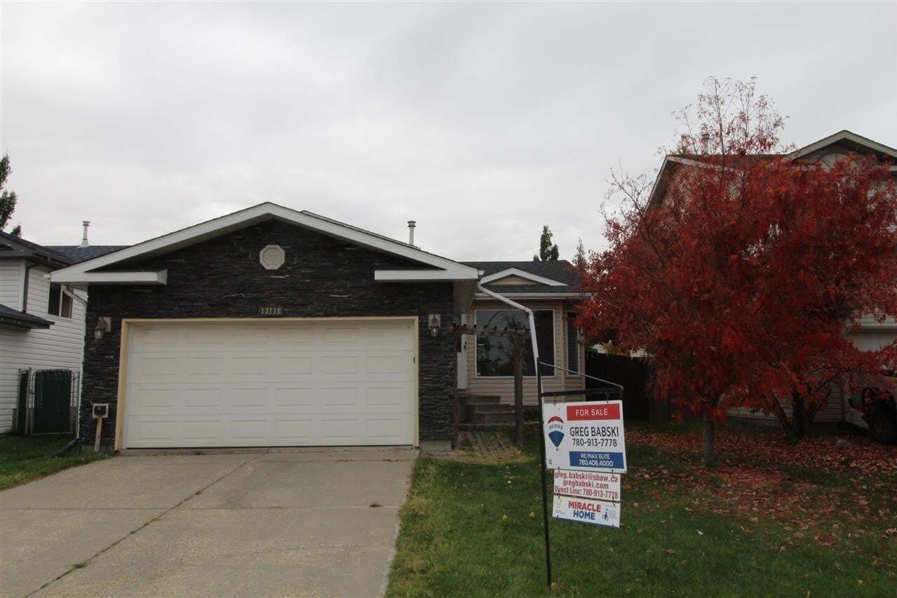 House for sale at 13118 137a St NW Edmonton Alberta - MLS: E4216962
