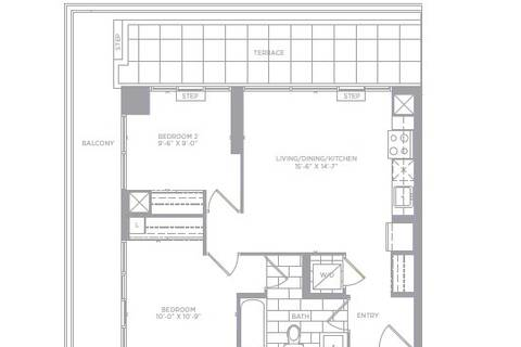 Apartment for rent at 30 Shore Breeze Dr Unit 1313 Toronto Ontario - MLS: W4454827