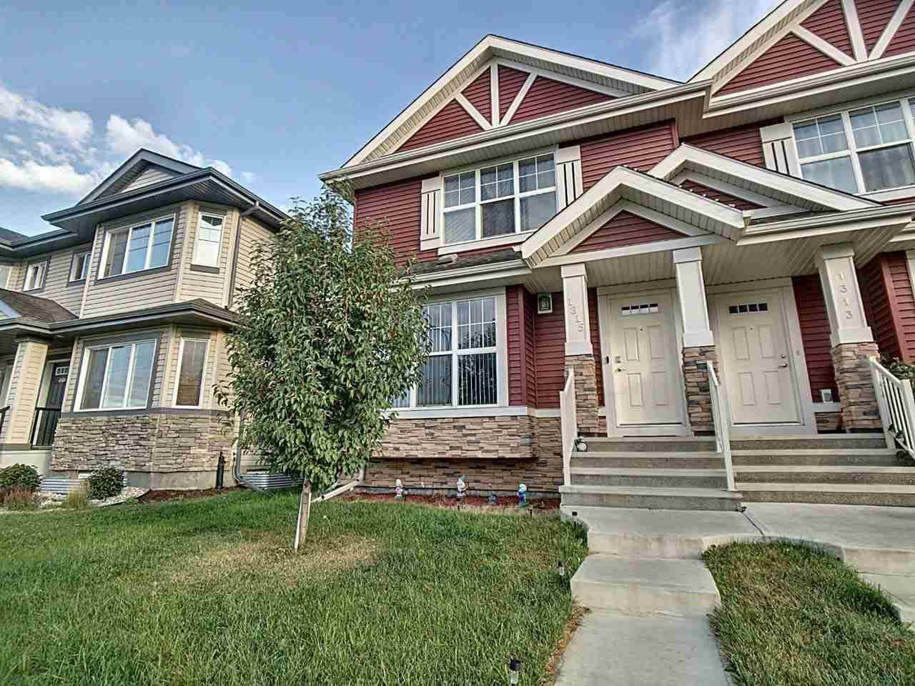 Townhouse for sale at 1315 Watt Dr Sw Edmonton Alberta - MLS: E4194738