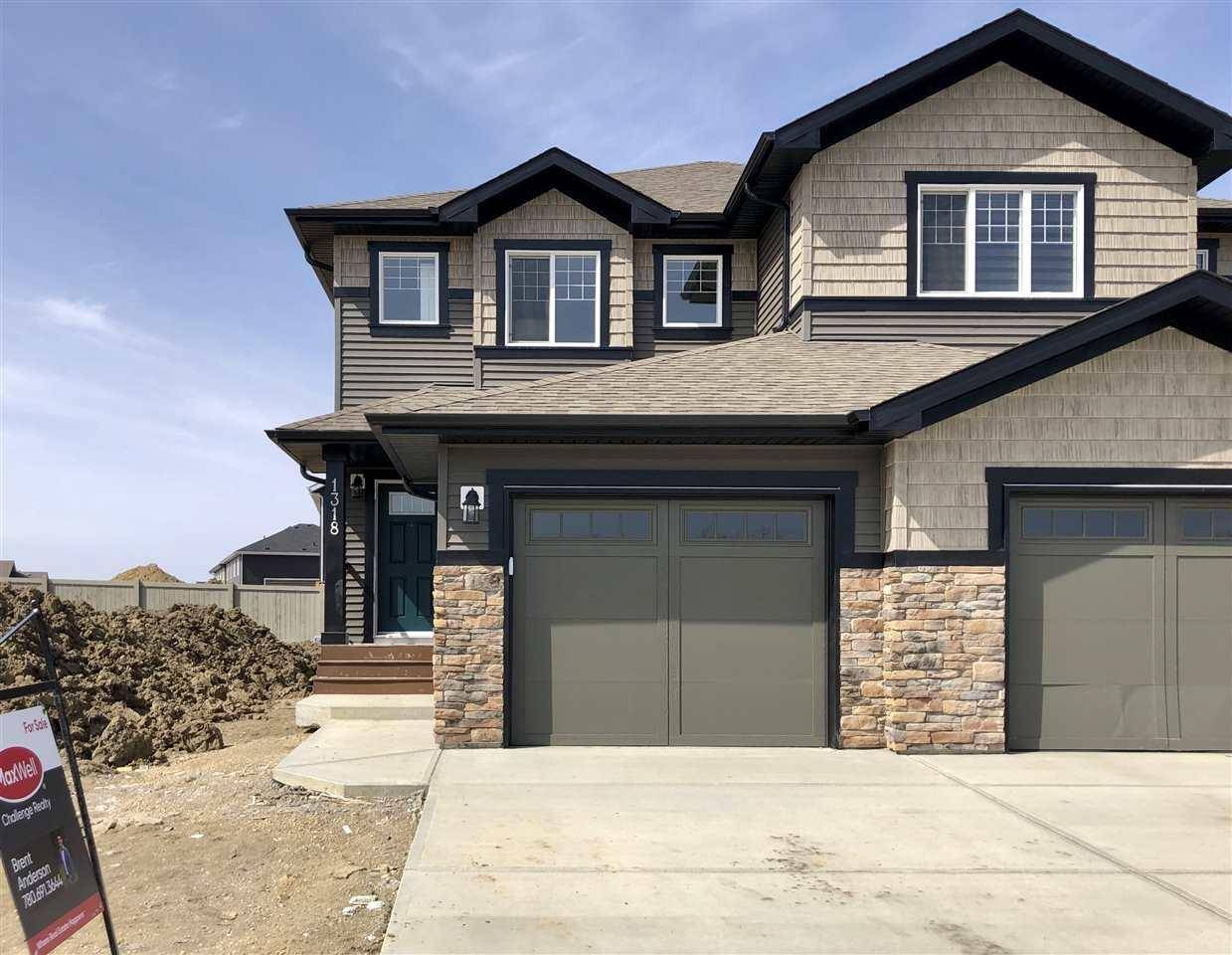 Townhouse for sale at 1318 Erker Cres Nw Edmonton Alberta - MLS: E4188976