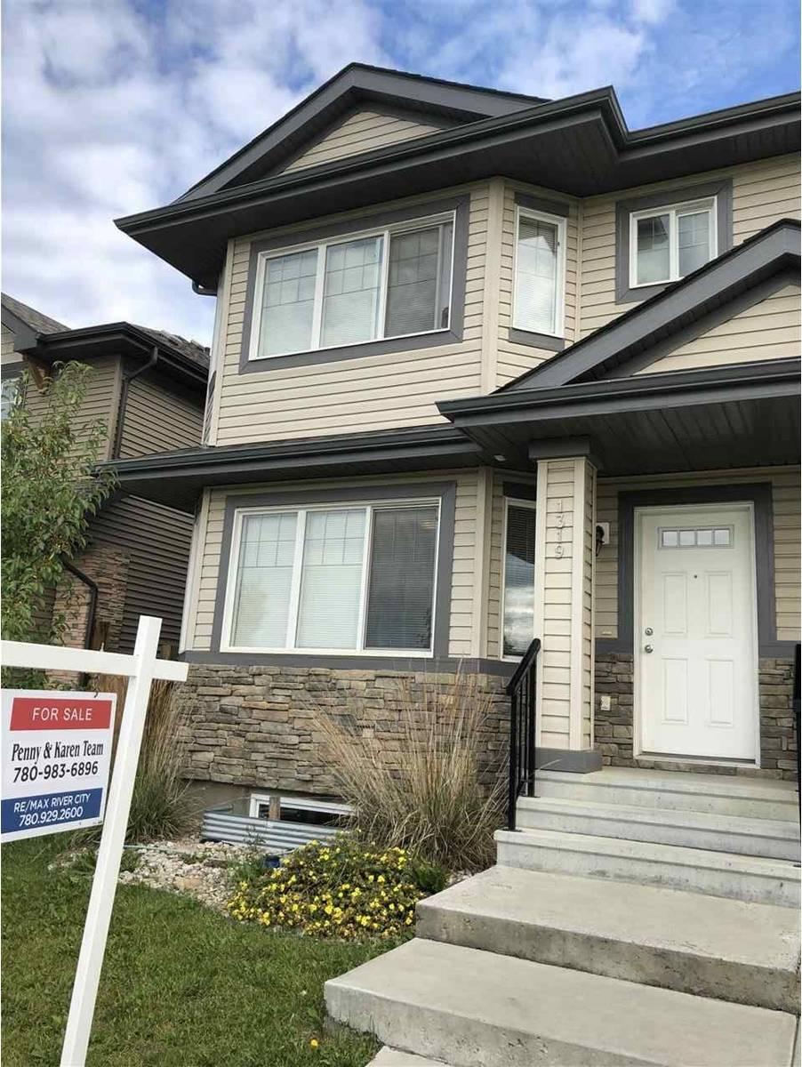 Townhouse for sale at 1319 Watt Dr Sw Edmonton Alberta - MLS: E4171339