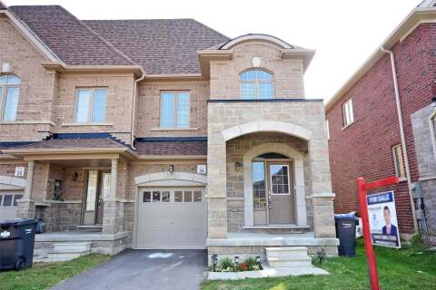 Townhouse for sale at 132 Agava St Brampton Ontario - MLS: W4921158
