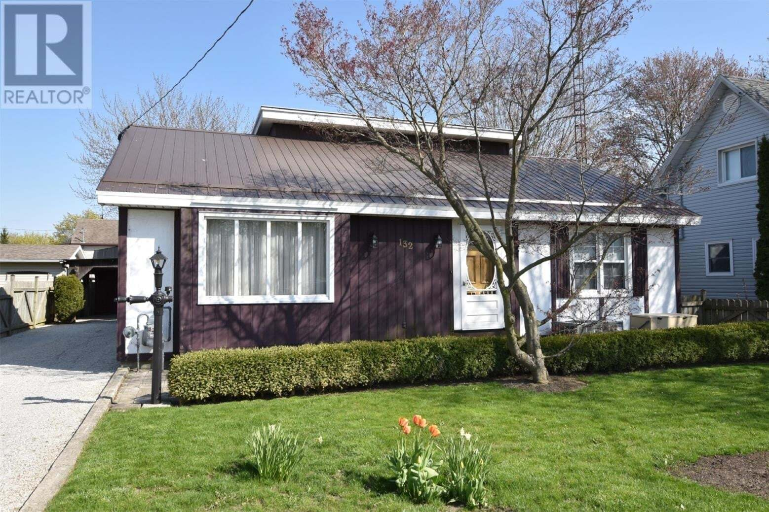 House for sale at 132 Catherine Street  Blenheim Ontario - MLS: 20005935