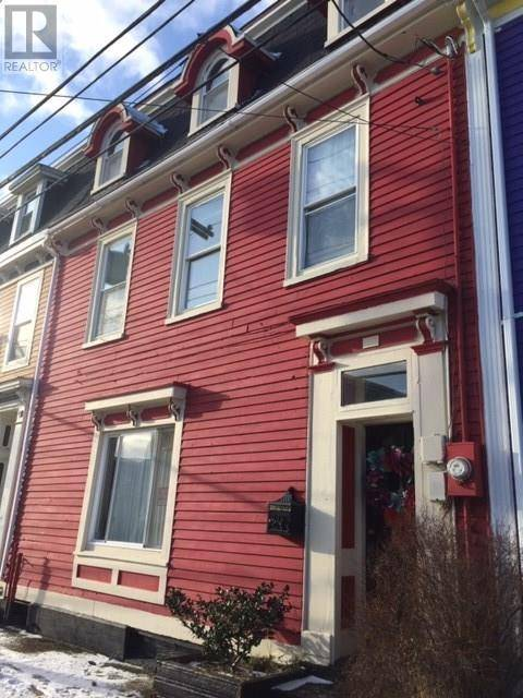 House for sale at 132 Gower St St John's Newfoundland - MLS: 1209412