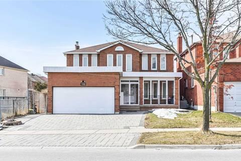 House for sale at 132 Sanwood Blvd Toronto Ontario - MLS: E4717026