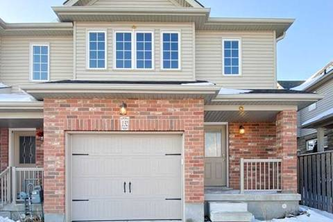 Townhouse for sale at 132 Simmonds Dr Guelph Ontario - MLS: X4694490