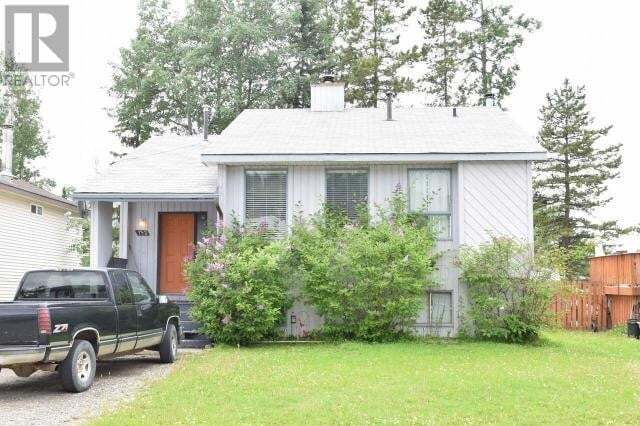 House for sale at 132 Valleyview Cres Tumbler Ridge British Columbia - MLS: 184589