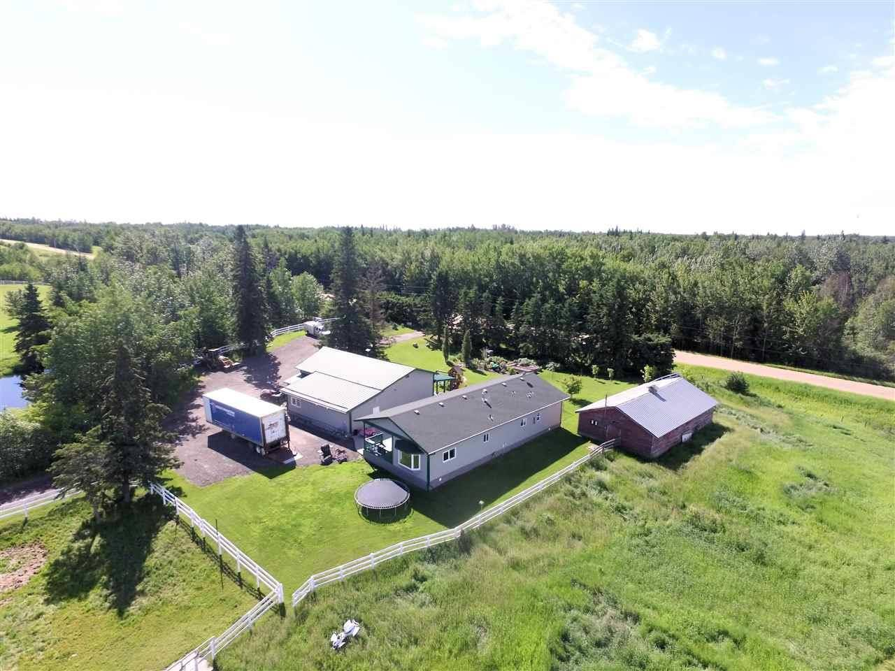 House for sale at 1320 Township Rd Rural Barrhead County Alberta - MLS: E4164457