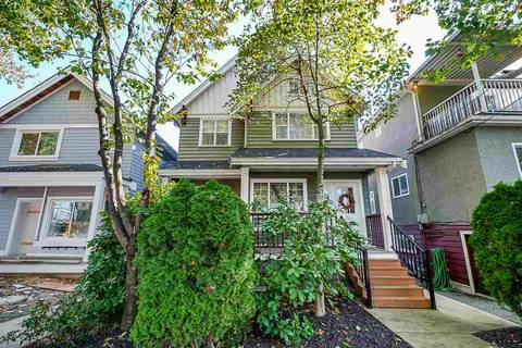 Townhouse for sale at 1320 Victoria Dr Vancouver British Columbia - MLS: R2413229