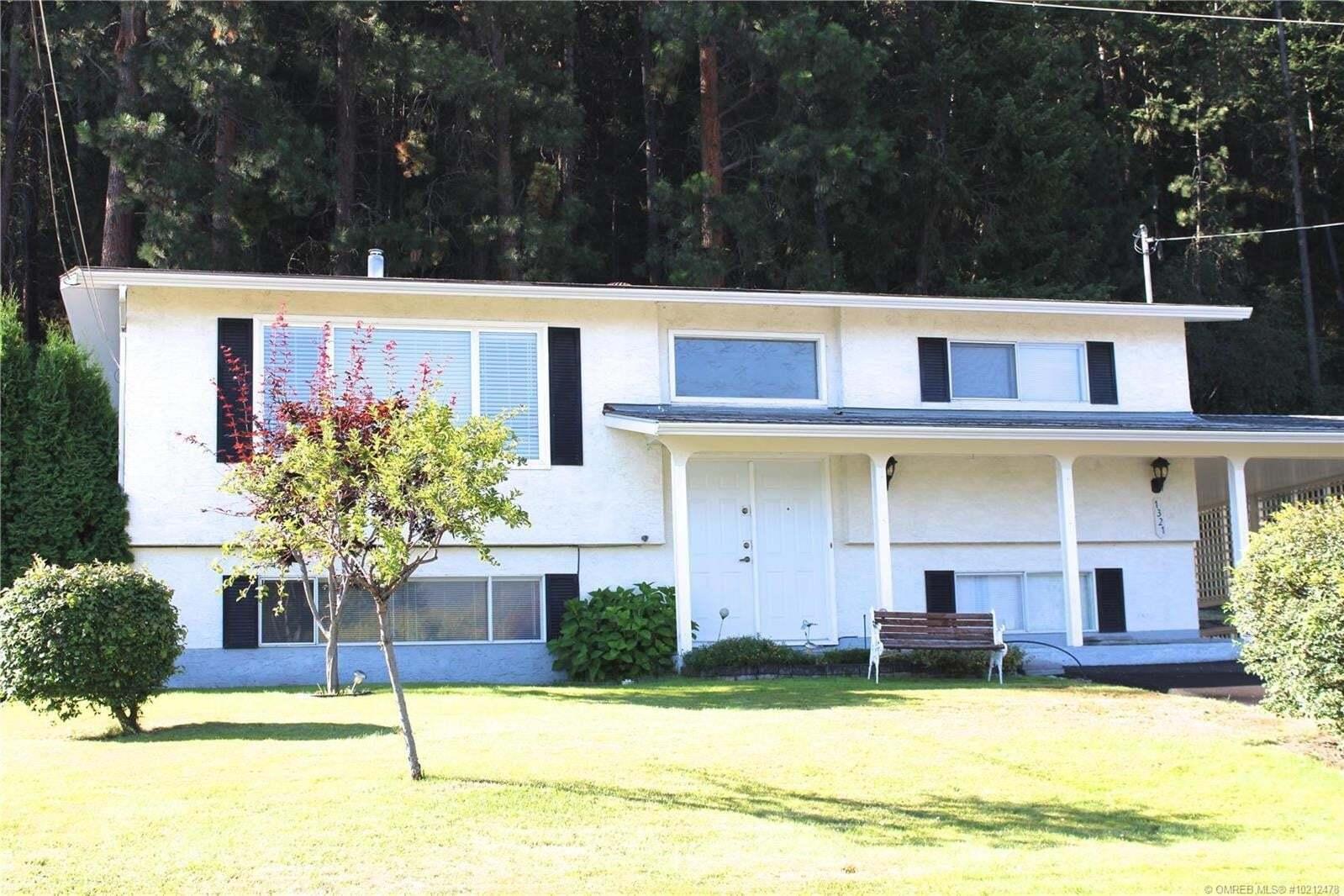 House for sale at 1321 Ponderosa Rd West Kelowna British Columbia - MLS: 10212478