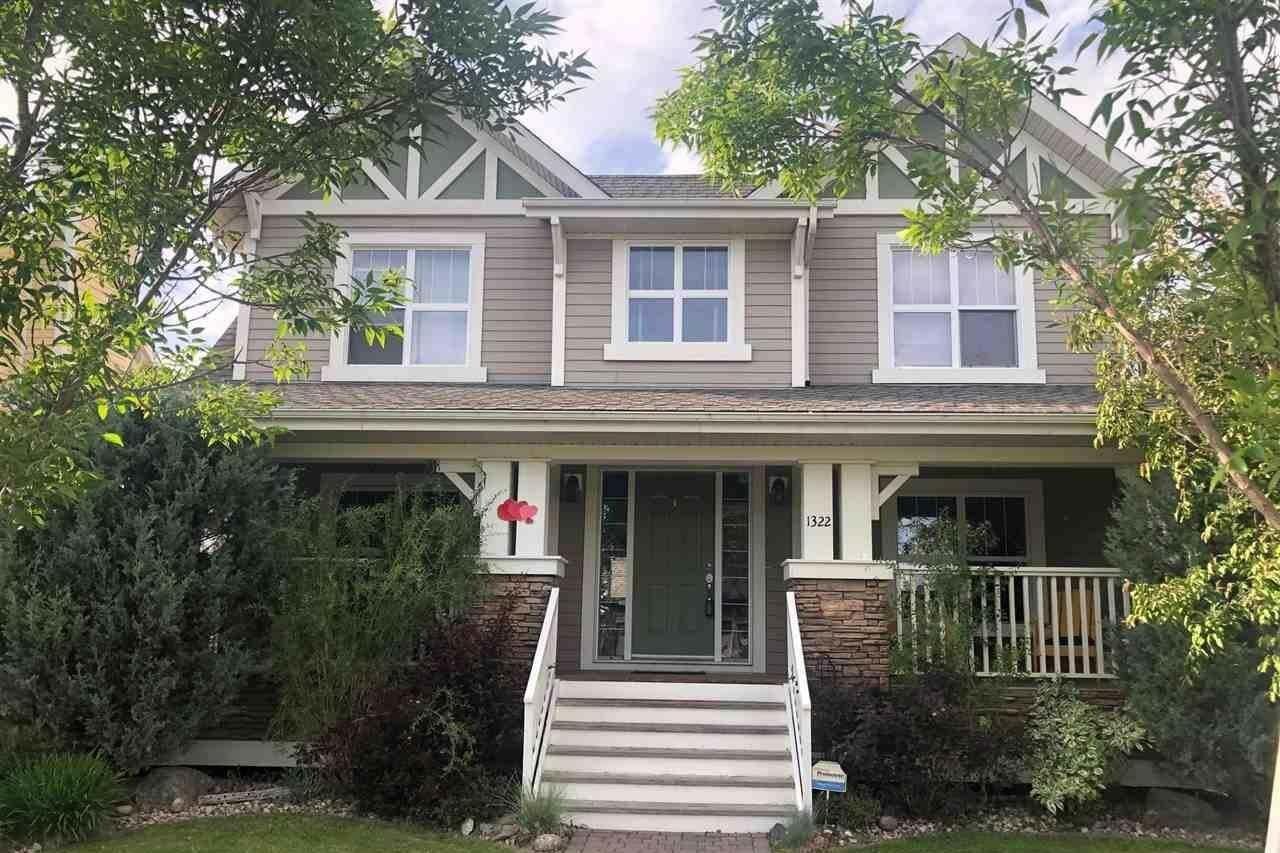 House for sale at 1322 Kapyong Av NW Edmonton Alberta - MLS: E4203039