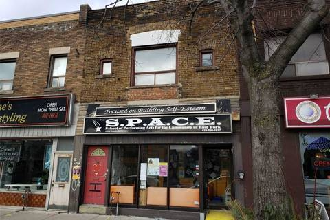Commercial property for lease at 1324 Danforth Ave Toronto Ontario - MLS: E4668356