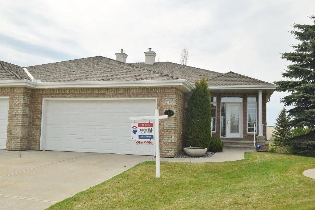 Townhouse for sale at 1324 Thompson Ct Nw Edmonton Alberta - MLS: E4171864