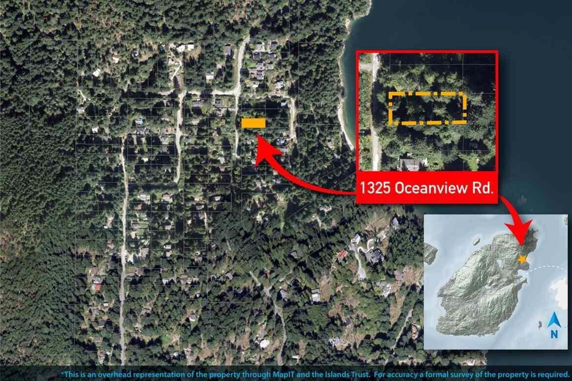 Home for sale at 1325 Oceanview Rd Bowen Island British Columbia - MLS: R2506062