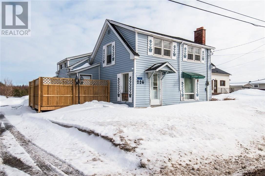 House for sale at 1256 Route 133 Rte Unit 133 Grand Barachois New Brunswick - MLS: M127699