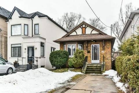 House for rent at 133 Parkview Ave Toronto Ontario - MLS: C4390846