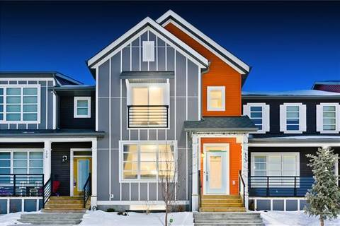 Townhouse for sale at 133 Savanna St Northeast Calgary Alberta - MLS: C4286477